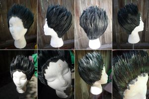 Gon wig from HunterxHunter by taiyowigs
