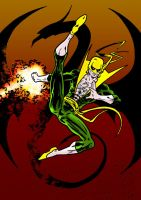 Iron Fist by tomcrielly