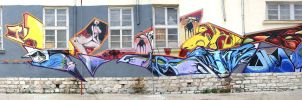 Board VS Aerosol Jam by punkt11
