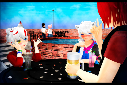 {mmd} Family Days by MeinuKurai