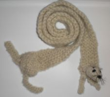 Baby Seal Scarf by cave-baby