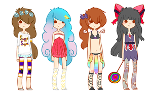 Adopts 4 {CLOSED} by Mysteryy-Adopts
