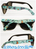 Wooper Pokemon Sunglasses by DablurArt