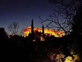 parthenon by BL00DYSunflowers