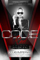 Code Red Party Flyer by ImperialFlyers