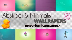 Abstract and Minimalist Wallpapers' by SofiiGrr
