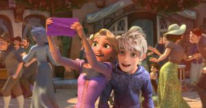 Rapunzel/Jack Frost by angeelous-dc