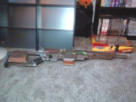 Steampunk Sniper Rifle by Chesca01
