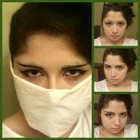 Cleaning Levi Makeup Test/Tutorial by PWheartgal