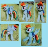 ::~Rainbow Dash Plushy 1 ~:: by Soft-Sensations