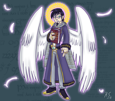 DP Scribe of Heaven by The-Clockwork-Crow