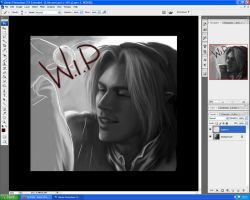LoZ OOT - Link W.I.P by SweetCandyRain