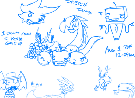 Sketch Dump by extreme810