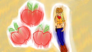 Applejack - Cowgirl by The-Zig