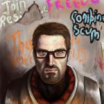 Gordon Freeman by Ameelz