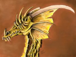 Akuuth the Gold by Aspi-Galou
