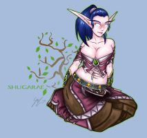 Night Elf Shug by Noxychu