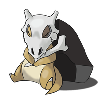 Sleepy Cubone by mithol