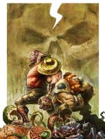 Skullkickers by joverine