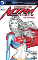 Supergirl cover by AerianR