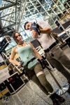 Otakuthon Nathan Drake and Lara Croft 2 by Stephanie-van-Rijn