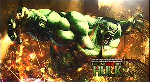 The Incredible Hulk by Red-wins