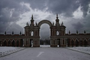 Palace gate by Michael-Rayne