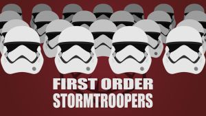 FIRST ORDER STORMTROOPERS (4K) by TheGoldenBox