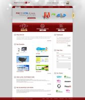 Psd to Html Shop Web Design by Dexign-Oxigen