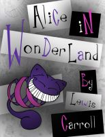 Alice in Wonderland Book Cover by pensivejakal