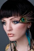 Mystic Nature Makeup by kidwithscissors