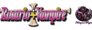 Rosario + Vampire LOGO (English) Render by Kurogane-Raziel