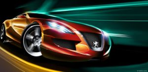 Peugeot 707- updated by husseindesign