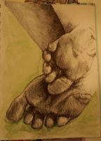 Graphic Diary-- Feet by Moruto