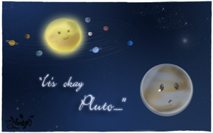 In memory of Pluto... by vanipy05