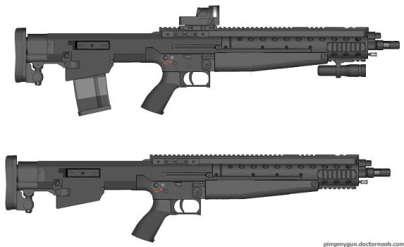 Pimp My Gun: PAK-15-C by PurplePhantom104