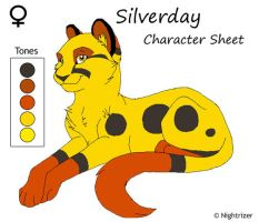Silverday Character Sheet Redo by Nightrizer