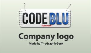 Code Blu logo by TheGraphicGeek