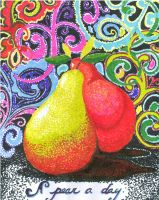 Perky Pair Pears by Willow-Pendragon