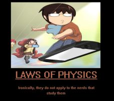 Lawls of Physics by earthalchemyst