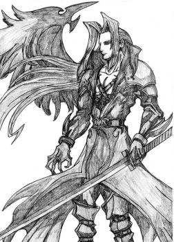 Sephiroth by PeterPrime