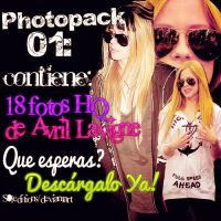#Photopack O1: Avril Lavigne by S0leditions