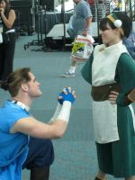 Team Avatar needs Toph by zeldalilly