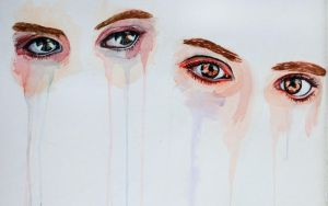 Watercolore Pratice (Eyes) by Vecordio