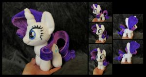 #004 - Rarity Mini by fireflytwinkletoes