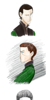 Loki Doodles by Pixtta