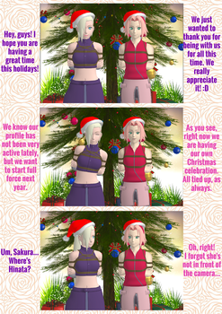 Merry Christmas! pg 1 by 4wearemanytoo