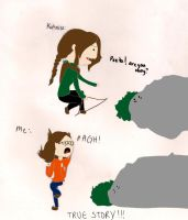 Katniss vs Me by TheBritishGeek
