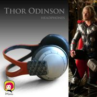 Thor Headphones by RidaChan