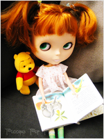 Blythe - Quiet Time with Pooh by Keana